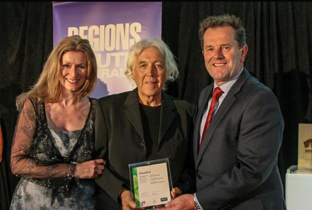 Roddy and Jane at the Regional Awards