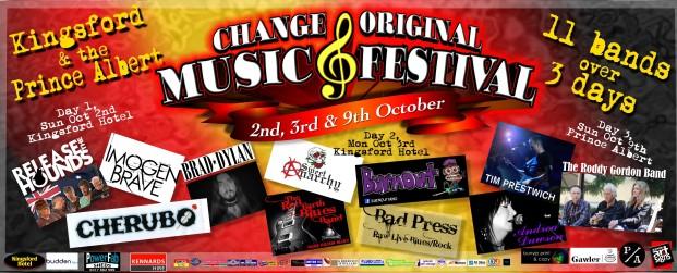 CHANGE ORIGINAL MUSIC FESTIVAL 2016