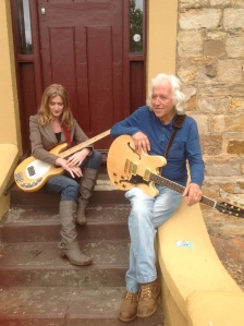 Jane Gordon - Bass Guitar. Roddy Gordon - Vocals, Acoustic/Electric Guitar, Slide and Blues Harp.