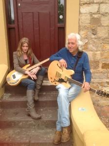 Jane Gordon - Bass Guitar. Roddy Gordon - Vocals, Acoustic/Electric Guitar, Slide and Blues Harp.
